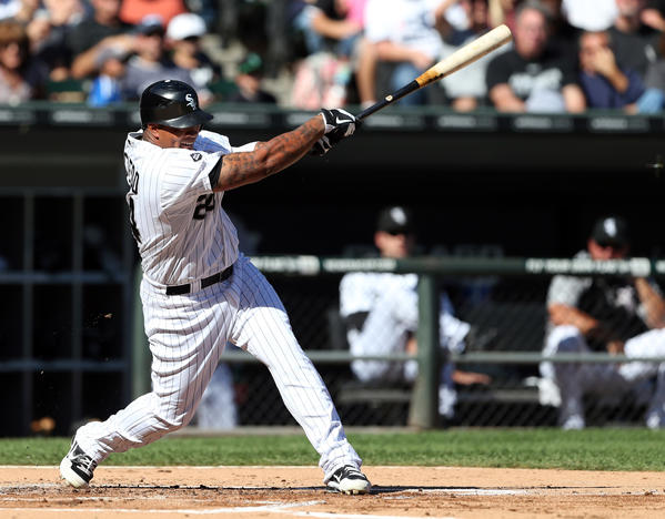 Sox slugger Dayan Viciedo's name has come up in trade rumors.