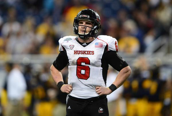 NIU quarterback Jordan Lynch says the Huskies aren't worried about outside criticism.