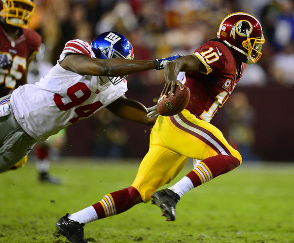 Giants v Redskins