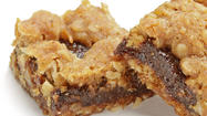 Sweet tart oat nut bars