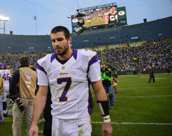 Minnesota Vikings quarterback Christian Ponder is engaged to ESPN reporter Samantha Steele. Which begs the question: What does one get the happy couple?