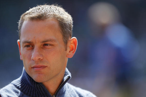 Cubs general manager Jed Hoyer is optimistic about the team's acquisitions.
