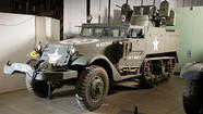 Military vehicles up for auction