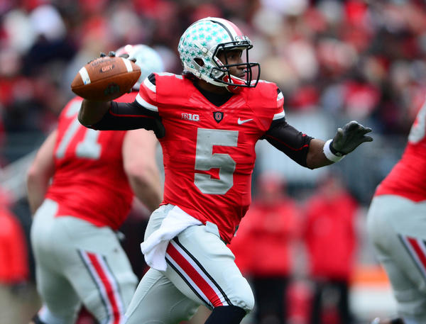 Ohio State quarterback Braxton Miller won the Chicago Tribune Silver Football, awarded to the Big Ten's best player.