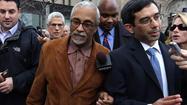 Sen. Donne Trotter leaves court