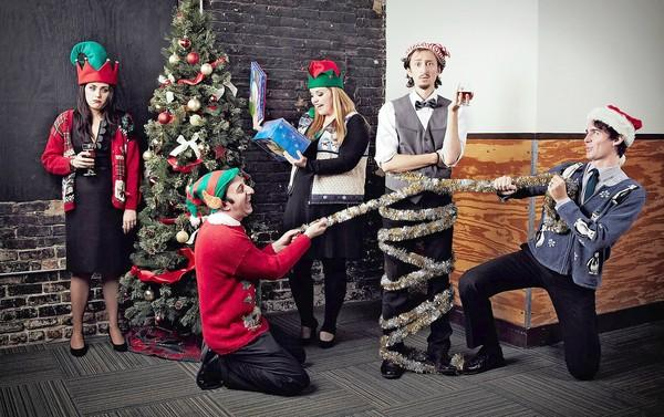 Second City performs its 'Dysfunctional Holiday Revue' at Musikfest Cafe Saturday and Sunday.