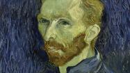 Close-up, Vincent van Gogh self-portrait