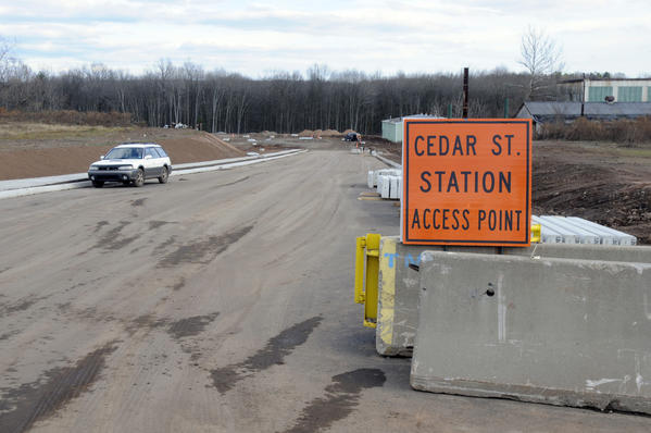 The Ceder Street station with access on Fenn Road in Newington, is currently under construction.