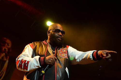 Rick Ross headlined this year's Jingle Jam at the XL Center in Hartford.