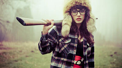 The Newest Hipster Activity:  Hunting