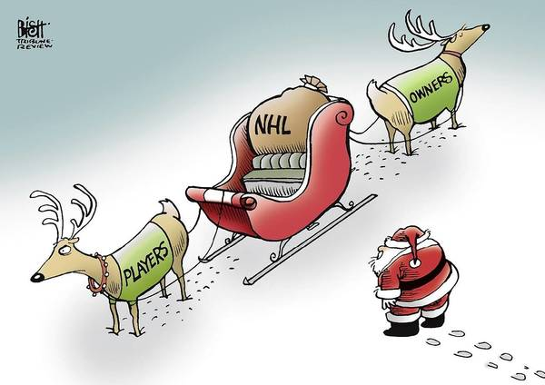 On the NHL lockout...