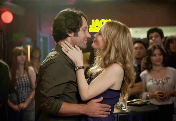 "Paul Rudd and Leslie Mann star in ""This is 40."""