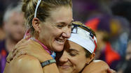 Misty May-Treanor and Kerri Walsh three-peat