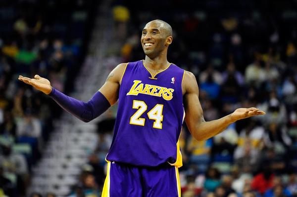 Kobe Bryant had some fun with his teammates' knowledge of history.