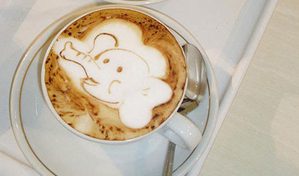 Coffee beans digested by an elephant are the key ingredient for one of the world's priciest cups of coffee.