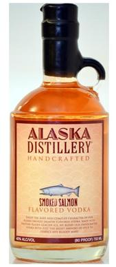 Alaska Distillery smoked salmon vodka.