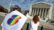 Supreme Court to rule on California's Prop. 8 ban on gay marriage