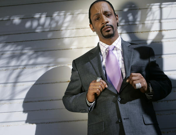"<em>Above: Katt Williams in 2008.</em><br><br>  What the heck is up with Katt Williams? The comedian on Monday told a Seattle TV station that he's quitting his chosen profession.  ""I'm just going to go ahead and announce my retirement from stand-up,"" he told KOMO News in an interview as he exited what he said was the fourth hotel he'd been asked to leave in two days. ""I'm kind of done.""  The 41-year-old, whose real name is Micah Williams, said he hadn't planned to give the news on a Seattle street, but rather back in L.A. at the offices of ICM or concert promoter LiveNation.  <br><br> <strong>Full story:</strong> <a href=""http://www.latimes.com/entertainment/gossip/la-et-mg-katt-williams-quits-standup-comedy-20121204,0,1024113.story"">Katt Williams, amid rocky tour, says he's quitting stand-up comedy</a> 