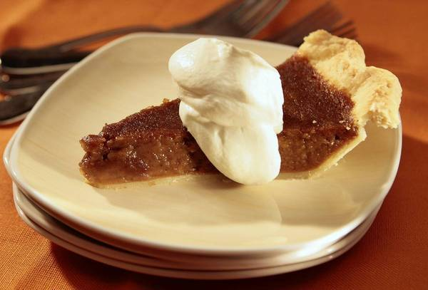 Sweet potato pie.