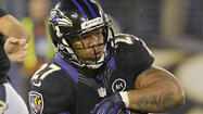 ASHBURN, Va. – One of the factors that contributed to the Pittsburgh Steelers' 23-20 win against the Ravens last Sunday was the Ravens' questionable decision to play the entire fourth quarter without giving running back Ray Rice a single carry or targeting him once in the passing game.