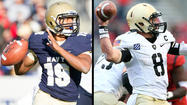 Quarterbacks enter Army-Navy game in different positions