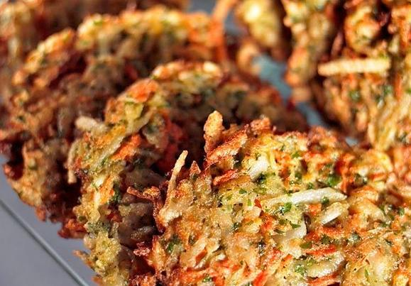 Winter sunshine latkes