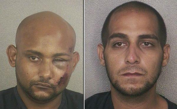 Clifton Lamothe, and Michael Gonzalez, 31, of Hollywood, were arrested in September on charges they robbed gas stations and convenience stores in Broward and Miami-Dade counties.