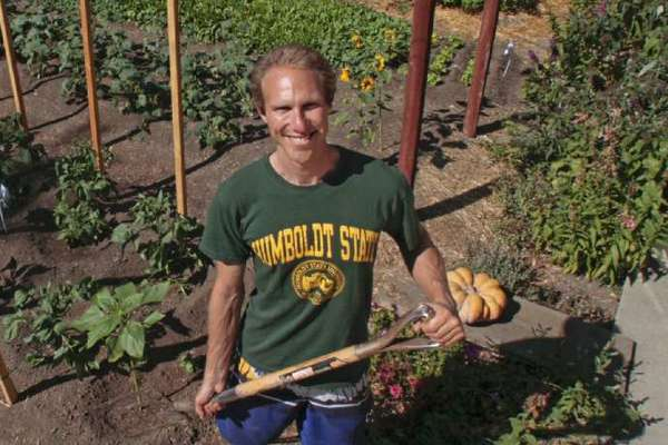 "Steven Wynbrandt says his roots in Judaism and his years at Humboldt State University have deeply influenced his stewardship for the Earth. ""There is a Hebrew phrase, <i>Tikkun olam,</i>"" he says. ""It means `Heal the world.' That's what I'm trying to do."""
