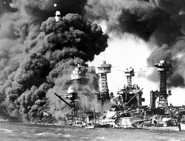 Japan attacked U.S. forces, including the USS West Virginia, at Pearl Harbor, Hawaii, on Dec. 7, 1941, and brought America into World War II.