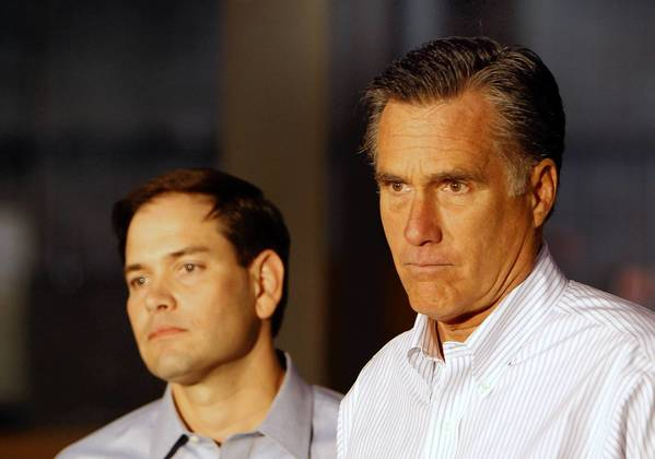 Republican Mitt Romney, right, garnered only 29 percent of the Hispanic vote in this year's presidential election. If Romney had received the same percentage as George W. Bush did in 2004, there would be a President-elect Romney now.