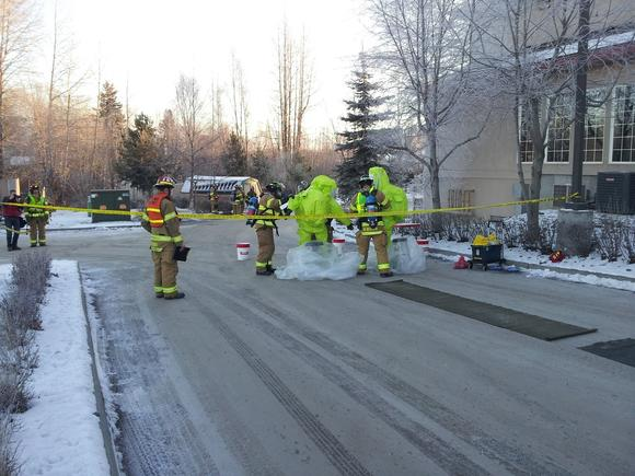 Spenard Hotel Evacuated After Small Chlorine Gas Leak