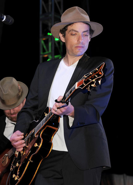 If my father was Bob Dylan, I would have run screaming from the music business. But I'm not Jakob Dylan, who's 42 today.