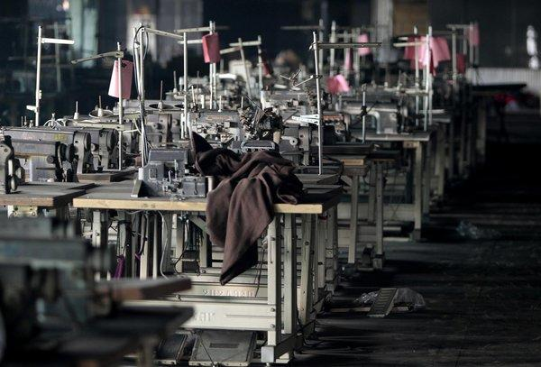 The Tazreen garment factory where a fire killed more than 100 people.