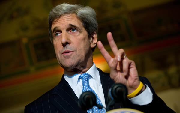 "<a class=""taxInlineTagLink"" id=""PEPLT003513"" title=""John Kerry"" href=""/topic/politics/government/john-kerry-PEPLT003513.topic"">Senator John Kerry</a> is 67 today (SAUL LOEB/AFP/Getty Images)"
