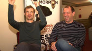 "Got to discuss ""The Book Of Mormon"" with co-creators Trey Parker and Matt Stone of ""South Park"" fame today. When talking about what the guys might do next (they said a movie), I asked if they were interested in directing the new ""Star Wars"" films. They, of course, had plenty to say about that. Watch above."