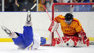 Calvert Hall loses to Landon in ice hockey