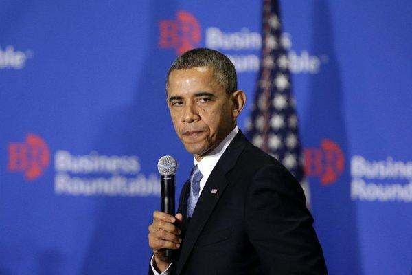 "Speaking at the Business Roundtable in Washington on Wednesday, President Obama insisted that any deal on the ""fiscal cliff"" must include an end to brinkmanship on the debt ceiling."