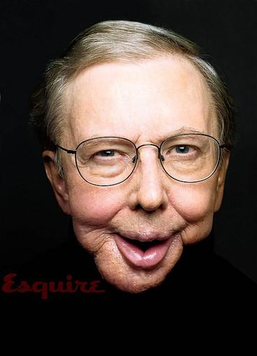 Film critic Roger Ebert was photographed for the March 2010 issue of Esquire magazine, available on newsstands nationwide on Feb. 16.
