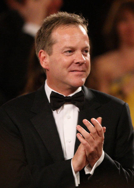Actor Kiefer Sutherland turns 44. (Photo by Frazer Harrison/Getty Images for AFI)
