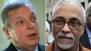 U.S. Sen. Dick Durbin said Democratic state Sen. Donne Trotter, a candidate to succeed Jesse Jackson Jr. in Congress, shouldn't get any special treatment as an elected official for allegedly trying to board a plane with a firearm and ammunition.