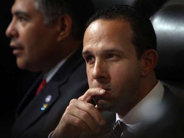 L.A. City Councilman Mitchell Englander, seen here last March, wants to tighten laws on group homes and boarding houses.