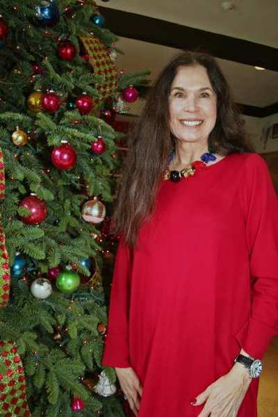 Maureen McGillan-Sklar of Pasadena toured the Banta residence in San Marino as part of the Pasadena Symphony Assn. Women's Committee Holiday Look In Home Tour.