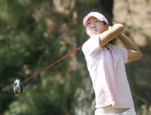 ARCHIVE PHOTO: Jocelyn Chia won her second straight Pacific League individual championship and helped Crescenta Valley share a piece of the league championship with Arcadia.