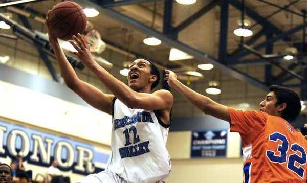 Junior guard Nick Springer led CV with 24 points and nine rebounds.