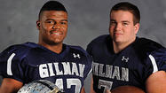 Football Defensive Players of the Year: Micah Kiser, Gilman, linebacker, senior and Henry Poggi, Gilman, lineman, senior