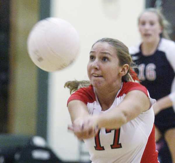 ARCHIVE PHOTO: Colleen Degnan was named to the Mission League First Team, while her teammates were selected to the second team.