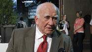 Ed Asner asks to urinate on Fox News producer