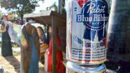 "Hark! The Herald Angels Sing ""Glory to Pabst Blue Ribbon Beer."""