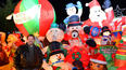 Bill White Christmas lights tour includes inflatable mania