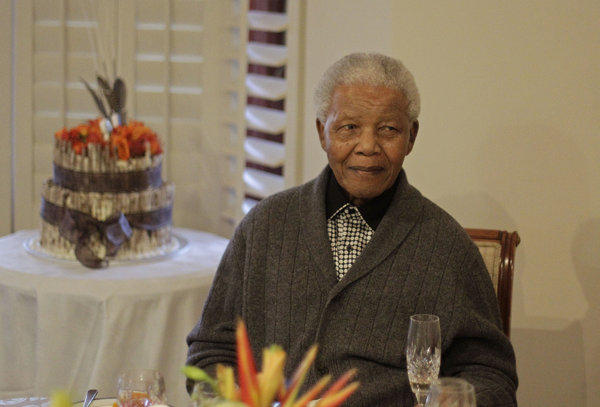 Mandela hospitalized